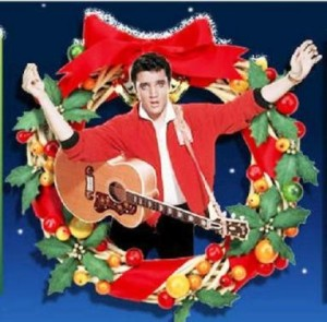 Elvis in Wreath