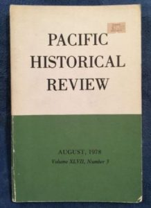 old-Pacific Historical Review (August 1978)