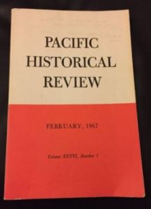 old-Pacific Historical Review (February 1967)