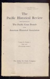 old-Pacific Historical Review (June 1933)