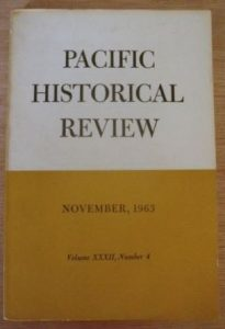 old-Pacific Historical Review (November 1963)